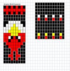 Pia Tuonosen neuleohjeet: Angry Birds-sukat Knitting Charts, Knitting Socks, Knitted Slippers, Fair Isle Knitting, Angry Birds, Handmade Home, Hama Beads, Knit Crochet, Knitting Patterns