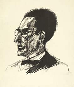 Portrait of Otto Klemperer