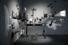 1 | A Magical Installation Combines Rube Goldberg With Shadow Puppets | Co.Design: business + innovation + design