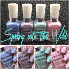 Polish and Paws: Wet n Wild Spring into the Wild ~ Spring 2016 LE