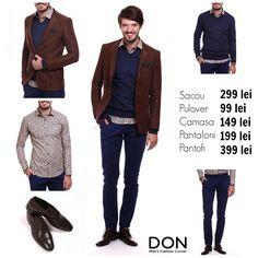 SHOP THE LOOK - 1.031 lei don-men.com #shopnow #shoponline