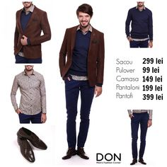 SHOP THE LOOK - 1.031 lei don-men.com #shopnow #shoponline