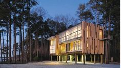 The Loblolly house...awesome prefab from a Philly based architectural firm