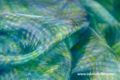 Handbeschilderde zijden sjaals 100-075