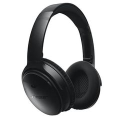 Bose® headphones: World-class noise cancellation. Bluetooth® and NFC pairing. Up to wireless battery life per charge. Noise-rejecting dual-microphone system for calls. Wireless Noise Cancelling Headphones, Best Headphones, Over Ear Headphones, Bose Wireless, Cheap Wireless Headphones, Cordless Headphones, Skullcandy Headphones, Bluetooth Gadgets, Studio Headphones