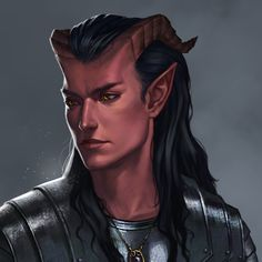 Character Portraits, Character Drawing, Character Concept, D D Characters, Fantasy Characters, Dnd Tiefling, Story People, High Fantasy, Fantasy Illustration