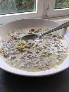 Richtig lecker - Lauch Hackfleisch Suppe