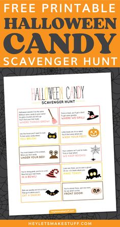 Halloween Activities For Kids, Halloween Party Games, Halloween Candy, Halloween Birthday, Family Halloween, Holidays Halloween, Halloween Printable, Haloween Games, Printable Halloween Decorations