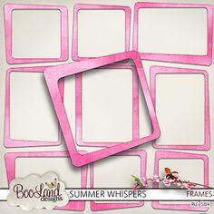 Summer Whispers - Frames
