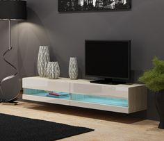 Fernsehtisch modern  Toulon | Tv units, White tv unit and Modern tv units
