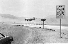 Iquique, Aeropuerto de Cavancha en 1979