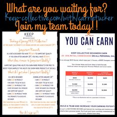 Join my team before Jan 29th to receive more benefits! www.keep-collective.com/with/carrietucker  #jewelry #joinmyteam #keepcollective #betaphase #women #womenfashion #womenstyle