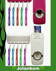 Dozownik pasty do zębów plus pojemnik zawieszony na 5 szczoteczek  Wygoda, design i zabezpieczenie przed kurzem  Zapraszamy do naszego sklepu www.prodekol.sklepna5.pl #dozownik #pasty #zębów #szczoteczki #łazienka #sklep #zakup #wysyłka...