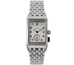 Jaeger-LeCoultre Stainless Steel Reverso Memory Unisex Manual Watch - Ref. 255 800 822