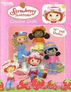 Strawberry Shortcake Dolls to Crochet ~ free patterns