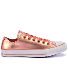 Compre Converse All Star : Tênis Converse All Star CT As Mettalic Leather Ox Rosa Velho CT03960002 por R$269,90 - Loja Virus