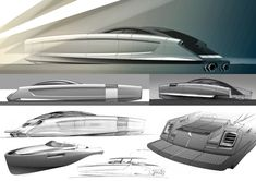 Aerospeed Superboat Sketches