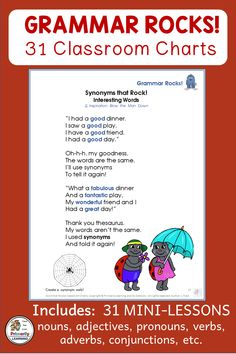 Grammar Song Charts that complement Jolly Grammar Grammar Practice, Teaching Grammar, Grammar Lessons, Phonics Programs, Teaching Programs, Classroom Charts, Classroom Resources, Noun Song