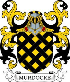 Murdocke Family Crest and Coat of Arms