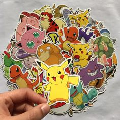 Objective 80pcs Pokemon Pikachu Cartoon Stickers Skateboard Laptop Luggage Car Sticker Cosplay Prop Accessories Novelty & Special Use Costume Props