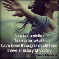 if you've been through it, you are already a survivor