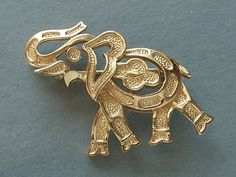 elephant brooch pin @Heather Creswell Mitchell