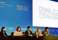 Tormenta de arena en la conferencia climática de Doha  Por Stephen Leahy