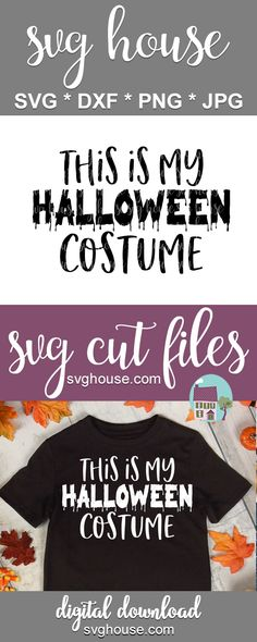 Funny Halloween Costumes, Halloween Themes, Halloween Crafts, Halloween Decorations, Halloween Designs, Christmas Svg, Christmas Ideas, Crafts To Make And Sell, Silhouette Machine