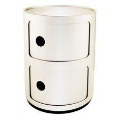 Componibili - Kartell medium - 2 compartimenten - rond