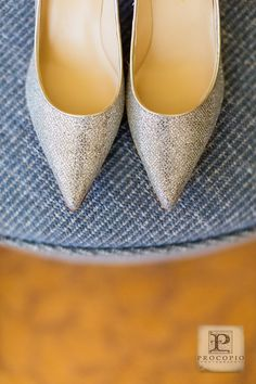 Sparkly Silver Bridal Shoes