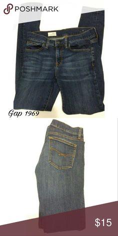 "Gap 1969 Legging Jeans Great condition Gap 1969 ""legging jeans."" GAP Jeans Skinny"