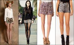 Animal-Print-Shorts-for-Summer-2014