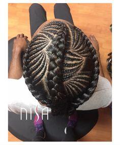 Creativity by @nisaraye  Read the article here - http://www.blackhairinformation.com/hairstyle-gallery/creativity-by-nisaraye/