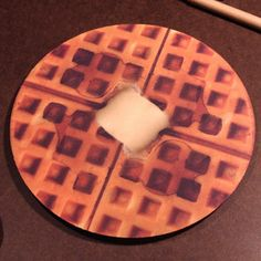 Waffle Mouse Pad now featured on Fab.