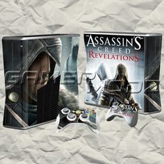 Revelations XBOX 360 Skin Set - Console with 2 Controllers