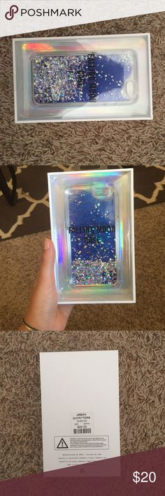 URBAN OUTFITTERS iphone case URBAN OUTFITTERS IPhone 6/6s sparkly phone case. Never opened! NWT Urban Outfitters Accessories Phone Cases
