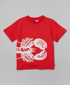 Red Lobster Tee - Infant Toddler & Boys