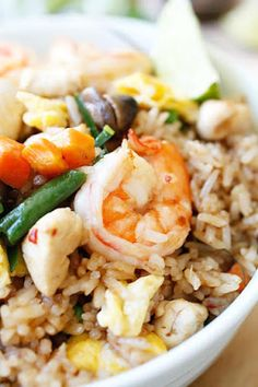 Tom Yum Fried Rice Recipe on Yummly. @yummly #recipe