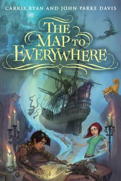 The Map to Everywhere - Carrie Ryan & John Parke Davis, https://www.goodreads.com/book/show/20980662-the-map-to-everywhere?ac=1