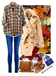 """Fall 2016 #02"" by legostep ❤ liked on Polyvore featuring Burberry, Casetify, Ollio, Yves Saint Laurent, Mimco, Persol, vintage, Fall, fallfashion and Fall2016"