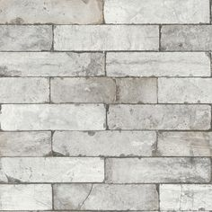Brick Effect (446302) - Albany Wallpapers - A contemporary wallpaper featuring an all over brick effect design. Shown here in the grey colourway. Other colourways are available. Please request a sample for a true colour match. Paste-the-wall product.