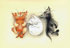 Озорные котята Юлии Корякиной.: 11 тыс изображений найдено в Яндекс.Картинках