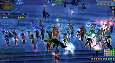 This is it: the exact moment the City of Heroes Justice server went down for the last time. #savecoh