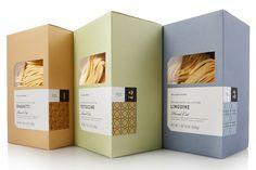Williams-Sonoma artisanal pastas packaging by Pavement » Retail Design Blog