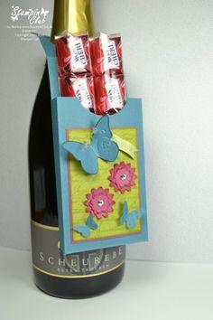 Flaschenanhänger mit Anleitung