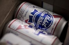 What to reach for when water would probably serve the same purpose but you just don't care. PBR, I love you.