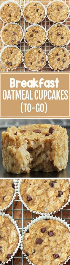 Cook just once, and you get breakfast for an entire month with these healthy bak. Cook just once, and you get breakfast for an entire month with these healthy baked oatmeal cupcakes What's For Breakfast, Breakfast Dishes, Breakfast Cupcakes, Breakfast Healthy, Breakfast Casserole, Breakfast Fruit, Oatmeal Casserole Recipe, Night Before Breakfast, Yummy Breakfast Ideas