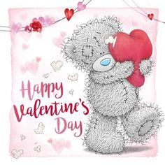 Valentines Day Gif Images, Valentines Day Bears, Happy Valentine Day Quotes, Valentine Poems, I Love You Pictures, Bear Pictures, Teddy Bear Quotes, Birthday Cards For Niece, Hug Gif