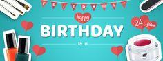 Happy Birthday nd24 Feiert mit uns auf www.nd24.de und sichert euch unsere Jubiläums Sets und weitere Angebote