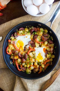 Buffalo Chicken Hash - Quick, easy, healthy and perfect for a #gameday ...